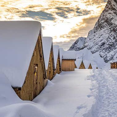 le refuge de loriaz par Bled_art
