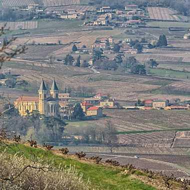 Eglise au deux clochers par patrick69220