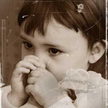 Mathilde enfant par mamichat