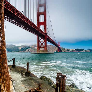Quai oublié au pied du Golden Gate par fapa14