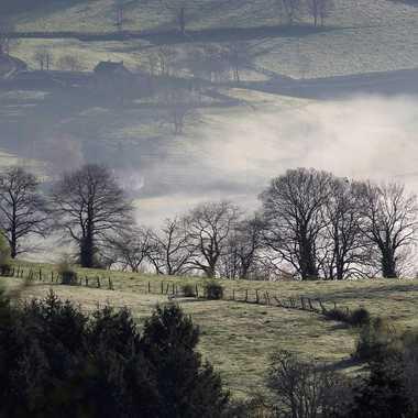 Lever de brume sur la campagne Brionnaise par patrick69220