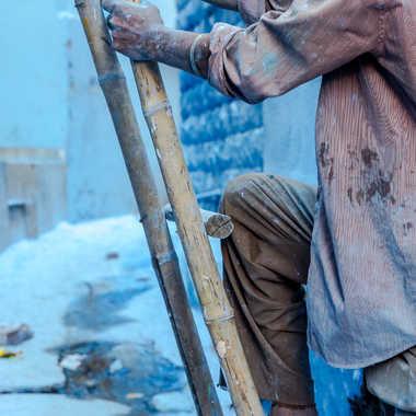 Le peintre et l'échelle par HeleneA