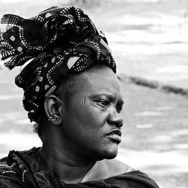 Femme d'Afrique (V2) par mamichat
