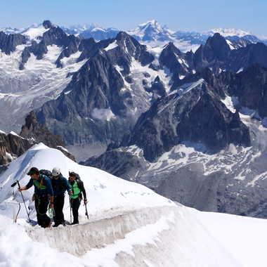 Retour de course dans le massif du Mont Blanc par JP13009