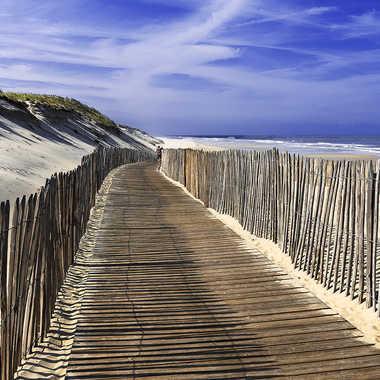 Vers la plage par Photnad