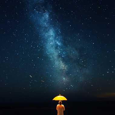 Nuit des étoiles - sortez couvert par Jose Fajardo