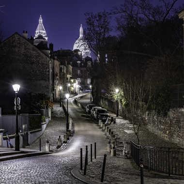 Rue de l'abreuvoir - Montmartre par Rolandhino