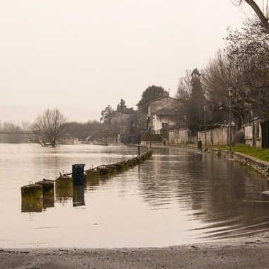 Inondation à Montmerle par patrick69220
