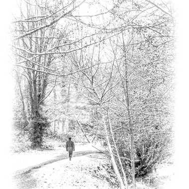 Esquisse hivernale V2 par Philipounien