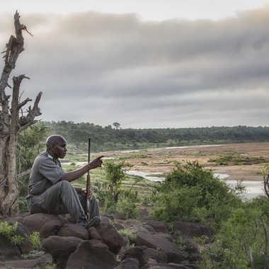 Rangers sur la rivière Letaba par patrick69220
