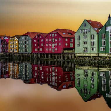 Trondheim par Christian Heitz
