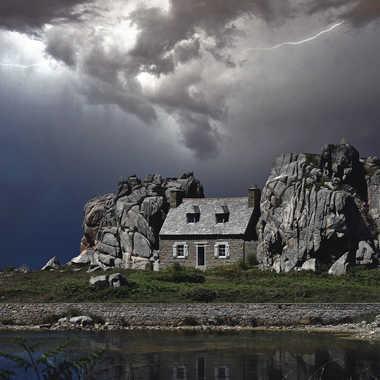 ça va craquer au dessus des rochers par Sébastien Wautié