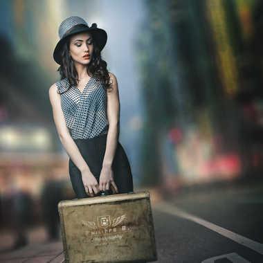 Lucie à NY par ilford75