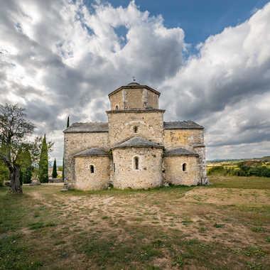 Eglise de Larnas par ChrisO7