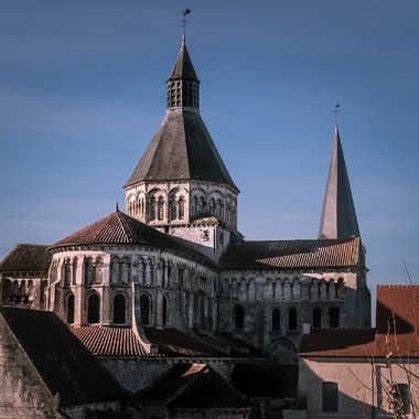 Le prieuré Notre-Dame de La Charité-sur-Loire par Nath Frank
