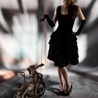 Célia et Freedom dog par eyo19