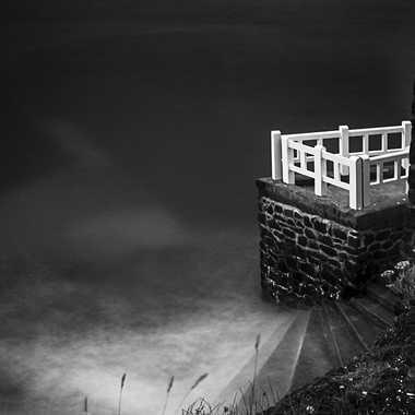 balcon sur la mer par nikki