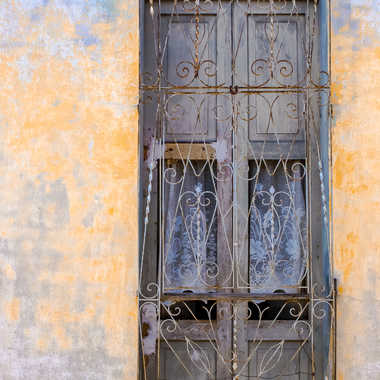 Porte-fenêtre cubaine par HeleneA