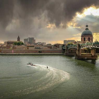Pont Saint-Pierre (Toulouse) par Josephotographie