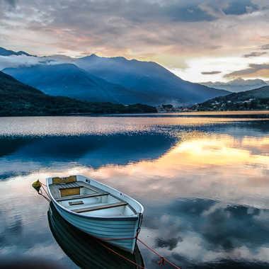 la barque du Mergozzo par Jeananne