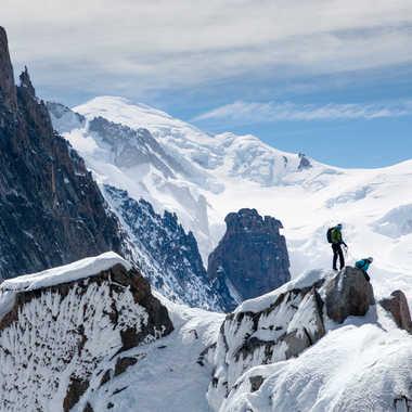Mont Blanc & Dôme du Goûter par pontesrocs