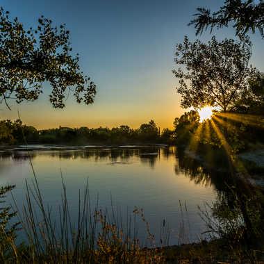 Couché sur le lac par Dav.sv