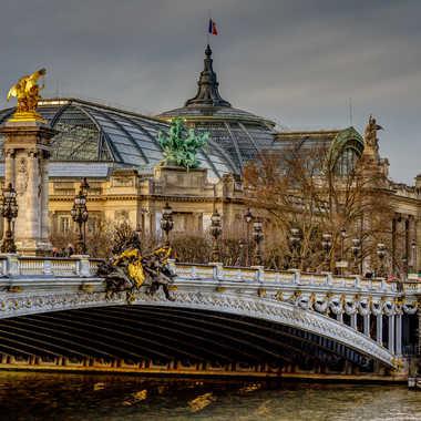 Pont Alexandre III et le grand palais par lumirique
