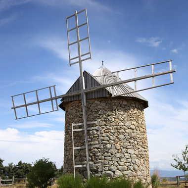 Les moulins de Ally par Faugere