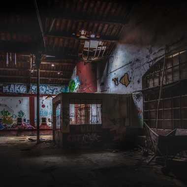 Cage Colorée par FredoRoiDuVelo