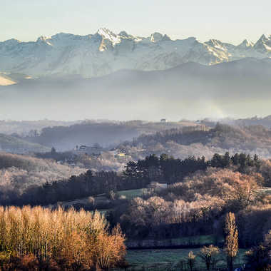 Vue du Béarn par kikineth