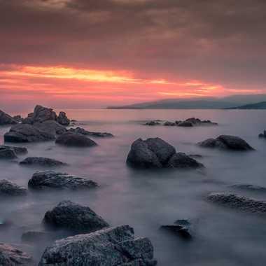 Coucher sur la Corse par Antony85