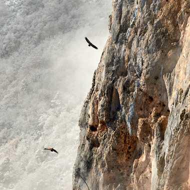 Au détour d'une falaise. par Philgreffe