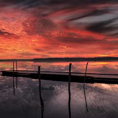 L'été indien sur le lac par Oxydo71