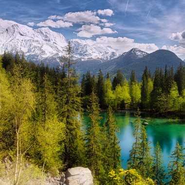 Le lac vert dans son écrin ! par Tigrouleader74