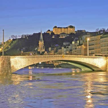 Pont Bonaparte par sunrise