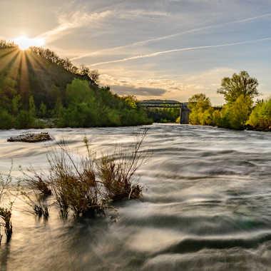 L'Ardèche à Vogüé par ChrisO7