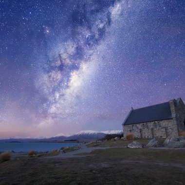 Starry night at Tekapo par AlexM