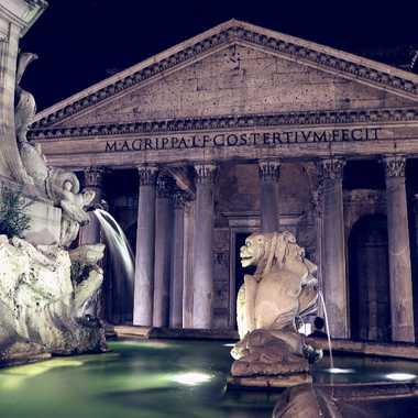 la fontaine du Panthéon par Gonzo