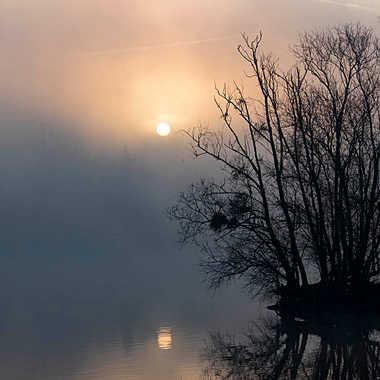 Petit matin sur la Saône par patrick69220