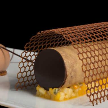 Chocolat en cage par Stéphane Sda