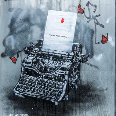 Street art tableau 3 par Basile59