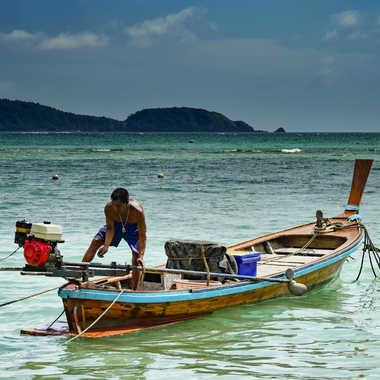 Pêcheur Thaïlandais par Buissem