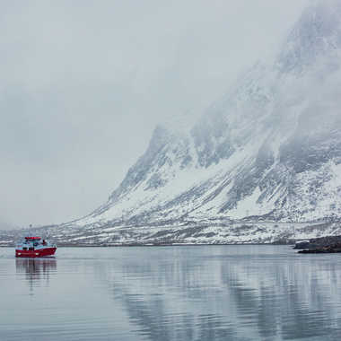 Dans le fjord par Farim