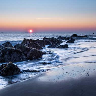 un soir sur la plage par bobox25