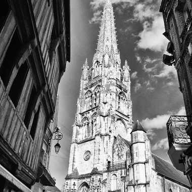 L'Eglise du village par objectif-photos
