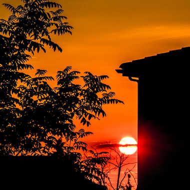 Soleil rouge par Philipounien