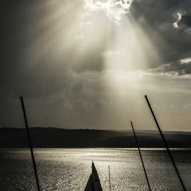 Voilier du lac par Dav.sv