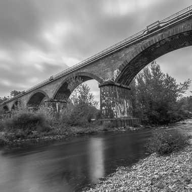 Pont du chemin de Fer de la Bageasse par Christophe