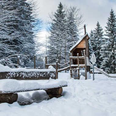 banc de neige par bobox25