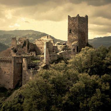 Le château fort par Giem